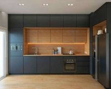 Modern and Contemporary Kitchen Cabinets Design Ideas 36