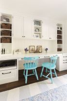 Awesome Built In Cabinet and Desk for Home Office Inspirations 8