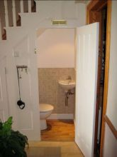 Awesome Cool Ideas To Make Toilet Under Stairs 20