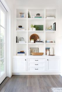 Brilliant Built In Shelves Ideas for Living Room 16