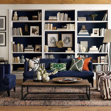 Brilliant Built In Shelves Ideas for Living Room 46