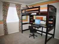 Cool Loft Bed Design Ideas for Small Room 59