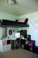 Cool Loft Bed Design Ideas for Small Room 74