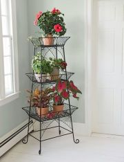 Cool Plant Stand Design Ideas for Indoor Houseplant 2