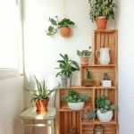 Cool Plant Stand Design Ideas for Indoor Houseplant 24