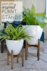 Cool Plant Stand Design Ideas for Indoor Houseplant 53
