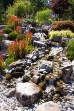 Inspiring Dry Riverbed and Creek Bed Landscaping Ideas 43