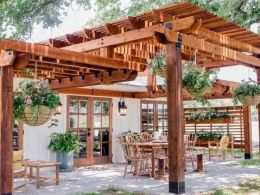 Pergola Design for Home Patio