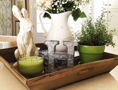 Spring Home Table Decorations Center Pieces 14