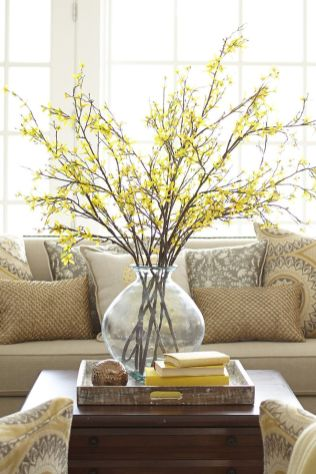 Spring Home Table Decorations Center Pieces 56