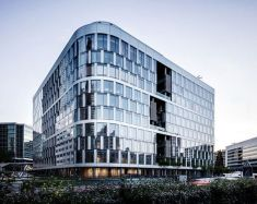 Stunning Glass Facade Building and Architecture Concept 8