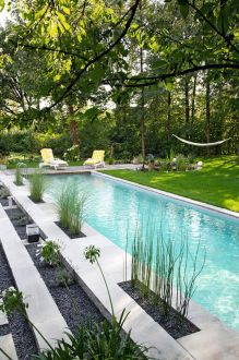 Stunning Outdoor Pool Landscaping Designs 45