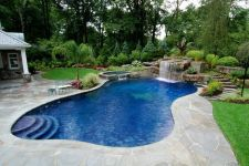 Stunning Outdoor Pool Landscaping Designs 70