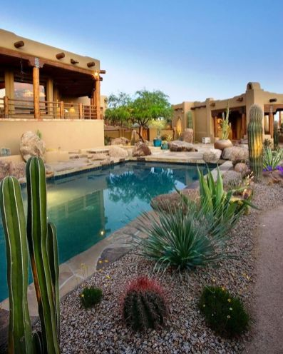 Stunning Outdoor Pool Landscaping Designs 9