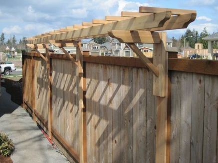 Stunning Privacy Fence Line Landscaping Ideas 41