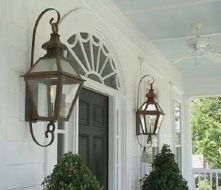Vintage Hanging Gas Lanterns for Front Door Decorations 62