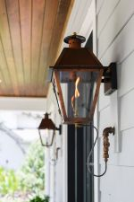 Vintage Hanging Gas Lanterns for Front Door Decorations 74