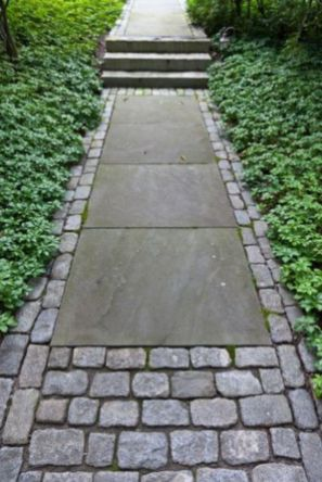 Front Yard and Garden Walkway Landscaping Inspirations 1