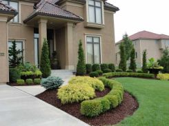 Front Yard and Garden Walkway Landscaping Inspirations 3