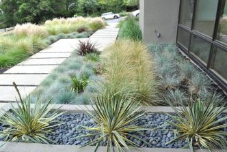 Modern and Contemporary Front Yard Landscaping Ideas 13
