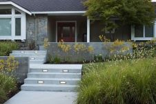 Modern and Contemporary Front Yard Landscaping Ideas 64