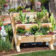 25 Simple Ideas to Make Cascading Garden Planter 7