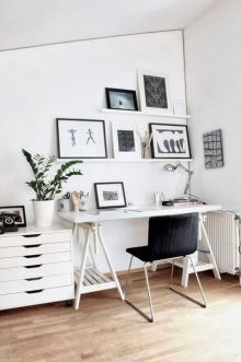 75 Most Favorite Home Workspace Inspirations Design 61