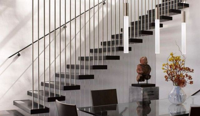 Modern Stair Railing Design