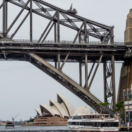 Harbour brdge and the opera house