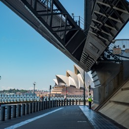 Under Harbour Bridge