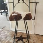 Bar Chair Swivel Star Cowhide Arms Min Rockin L Designs