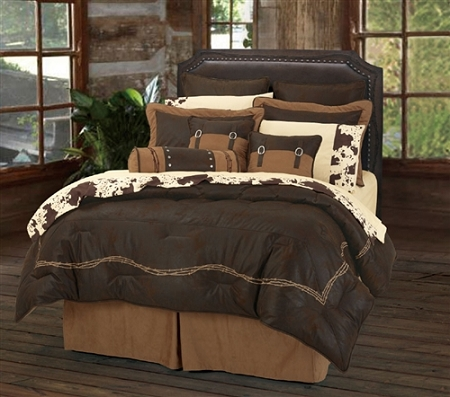 Barbwire Rustic Western Bedding Sets