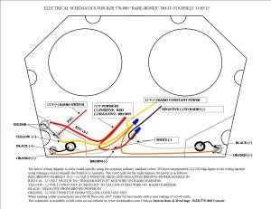 RZR 570800 INSTRUCTION ,DRAWINGS, WIRING DIAGRAM
