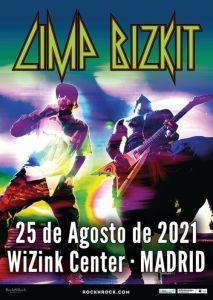 LIMP BIZKIT en Madrid el 25 de Agosto 2021