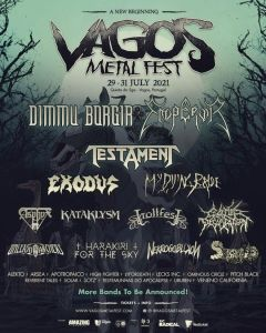 VAGOS METAL FEST regresa en 2021