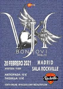 VH Bon Jovi Tribute el sábado 20 de febrero en la Rockville