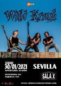 Wild Krash presentación en Sevilla el 30 de enero
