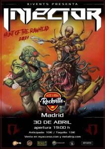 Injector concierto presentación de nuevo álbum en Madrid
