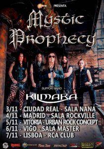 Mystic Prophecy en noviembre en nuestros escenarios