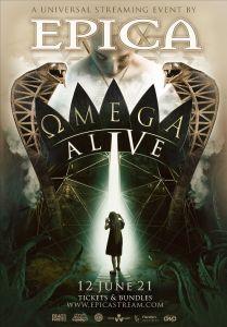 "EPICA - Anuncia evento en streaming ""Ωmega Alive"""