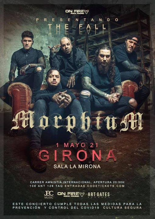 MORPHIUM presentará nuevo disco THE FALL en LA MIRONA