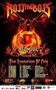 Ross The Boss nuevas fechas - The Evolution of Fire 2022