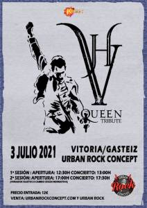 VH Queen Tribute en concierto en Vitoria