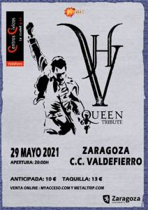 VH Queen Tribute en concierto en Zaragoza