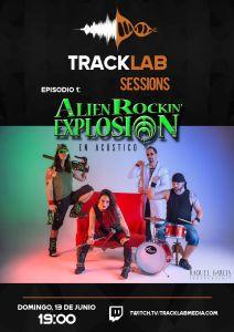 ALIEN ROCKIN' EXPLOSION en directo y nuevo vídeo