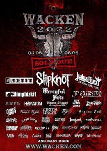 WACKEN 2022 anuncia nuevas bandas