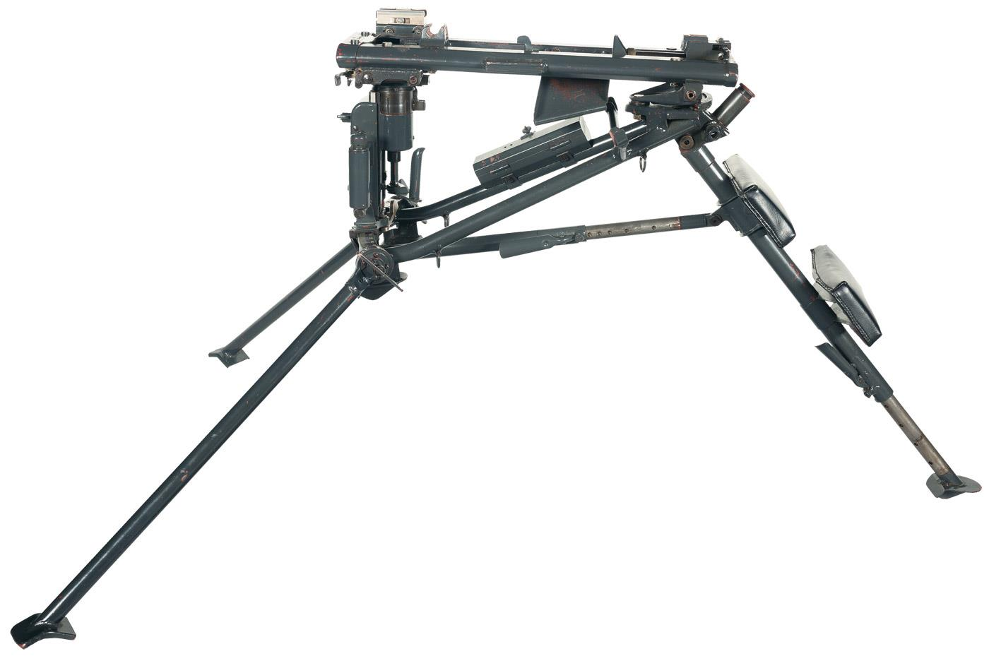 World War Ii Production Field Mount For A Mg42 Machine Gun