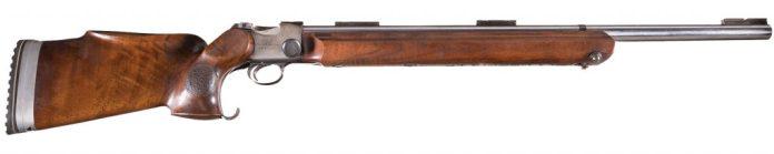 Al Freeland championship rifle