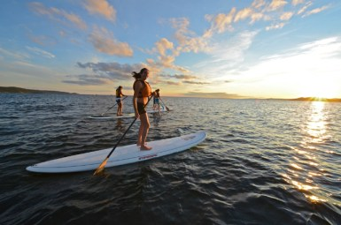 Sunset SUP 5