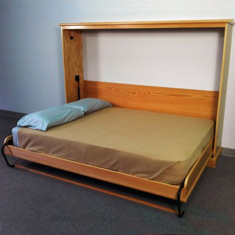Deluxe Murphy Bed Kits Side Mount Rockler Woodworking And Hardware